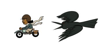 bessie-and-crow